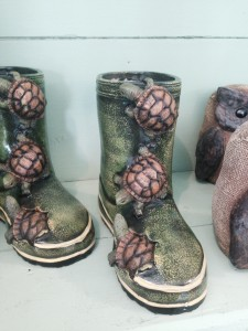 Turtle boots